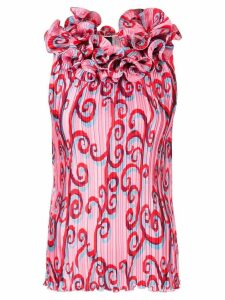 Romance Was Born Psychedelic Vine Top - Pink