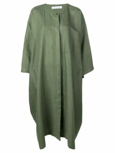 Société Anonyme oversized Mondrian dress - Green