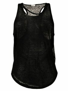 Saint Laurent slim-fit tank top - Black