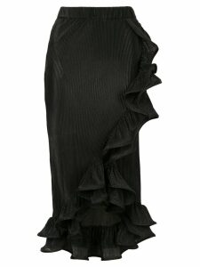 Romance Was Born Bloom Pleated skirt - Black