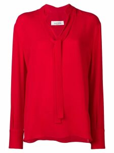 Valentino pussy bow shirt - Red