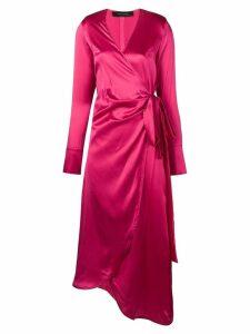 Federica Tosi wrap dress - Pink