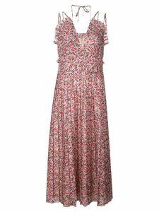 Robert Rodriguez Studio Cayana pleated dress - Pink