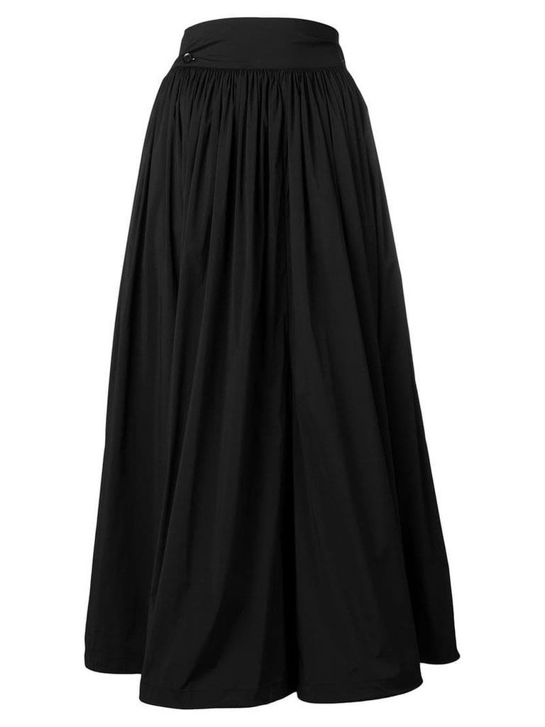 Y-3 high-waist midi skirt - Black