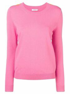 P.A.R.O.S.H. side stripe fine sweater - Pink