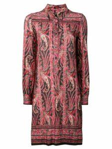 Isabel Marant paisley pattern shirt dress - Red