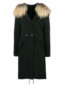 Liska Sandroni parka coat - Black