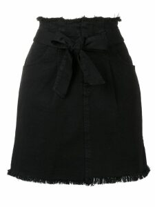 Federica Tosi belted jean skirt - Black