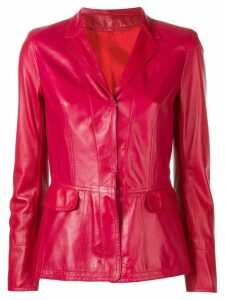 Sylvie Schimmel fitted blazer - Red