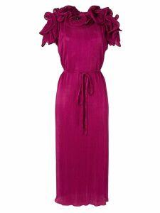 Romance Was Born Bloom pleated dress - Purple