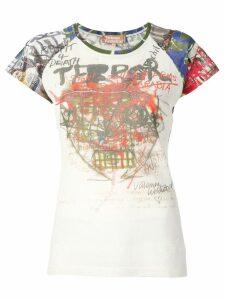 Vivienne Westwood Terror print T-shirt - Neutrals