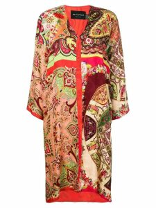 Etro Spolverino Meadows coat - Red