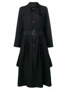 Comme Des Garçons Comme Des Garçons shirt midi dress - Black