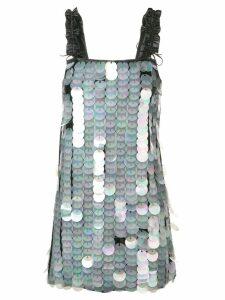 Drome paillette-embellished dress - Black