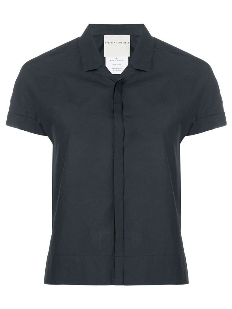 Stephan Schneider short sleeve shirt - Black