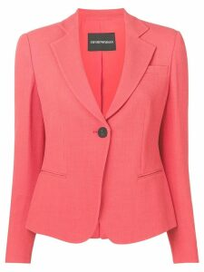 Emporio Armani slim fit blazer - Orange