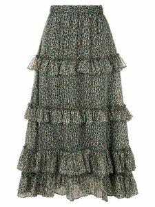 Philosophy Di Lorenzo Serafini high-waist cascading ruffle skirt -