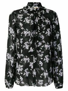 Michael Michael Kors floral print blouse - Black