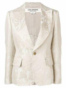 Junya Watanabe brocade blazer - Neutrals