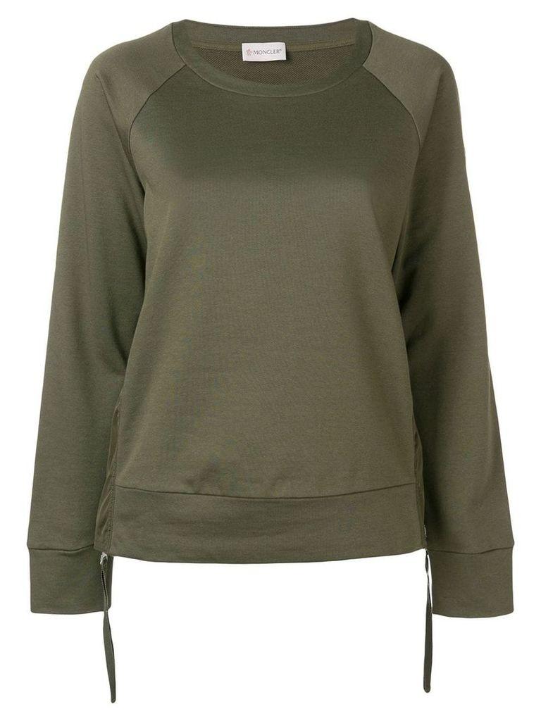 Moncler drawstring sweatshirt - Green