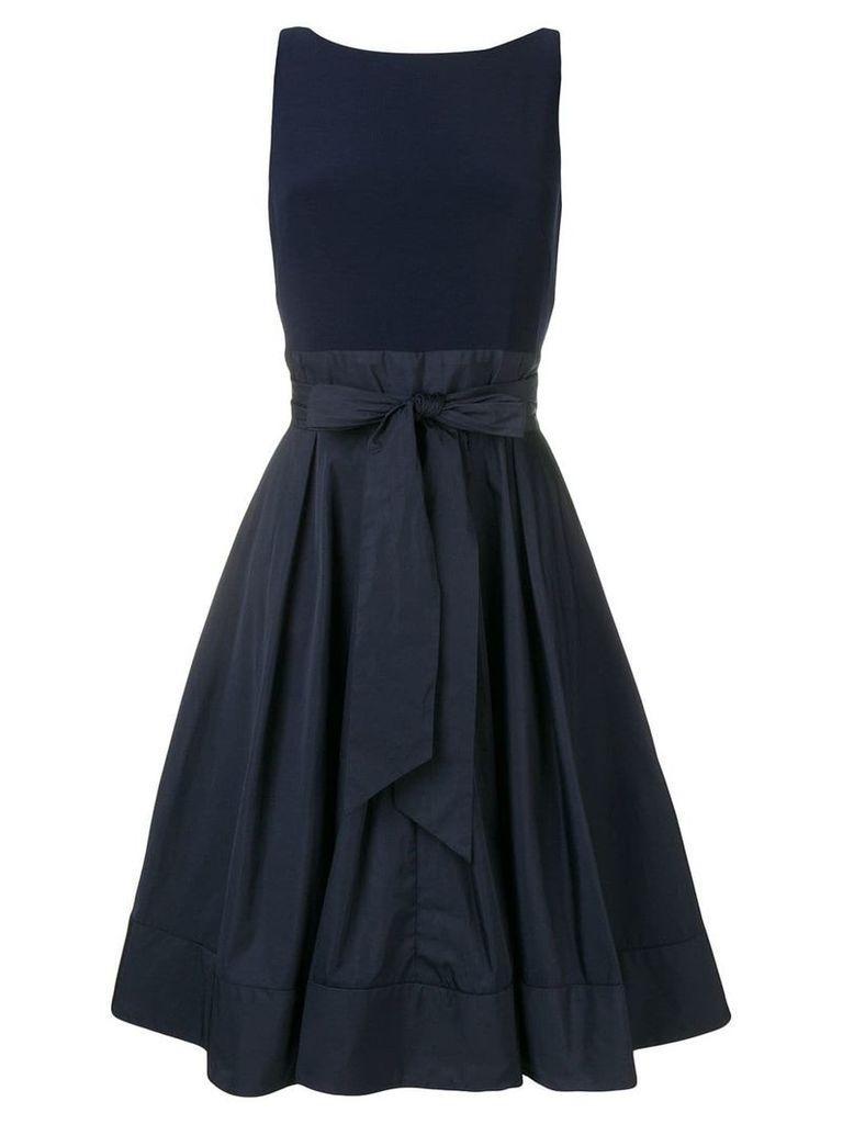 Lauren Ralph Lauren Yuko bow embellished dress - Blue