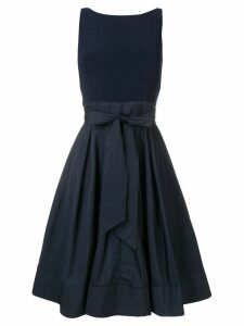 Lauren Ralph Lauren Yuko bow embellished dress - Blue