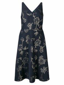 Lauren Ralph Lauren Yoly midi dress - Blue