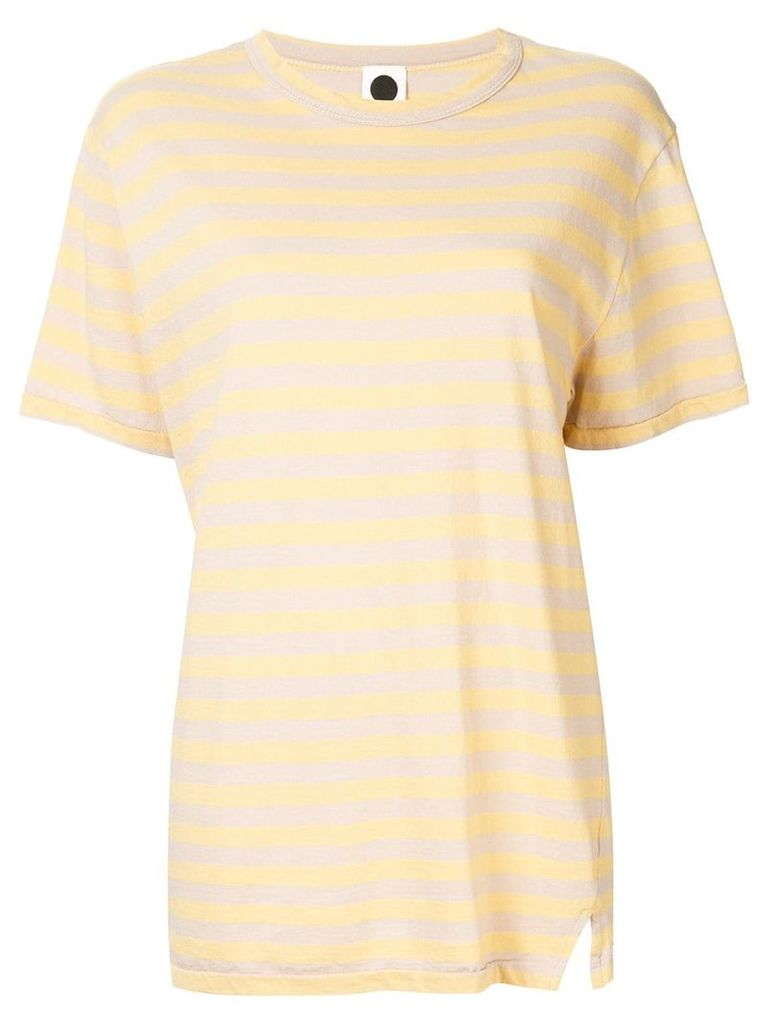 Bassike classic wide heritage T-shirt - Yellow
