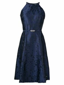 Lauren Ralph Lauren Petrah textured dress - Blue