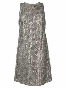 Lauren Ralph Lauren Lark sequinned dress - Neutrals
