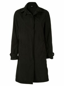 Aspesi single-breasted fitted coat - Black