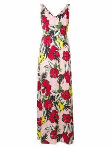 Liu Jo floral print long dress - Pink