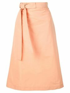 Rochas Ophrys skirt - ORANGE