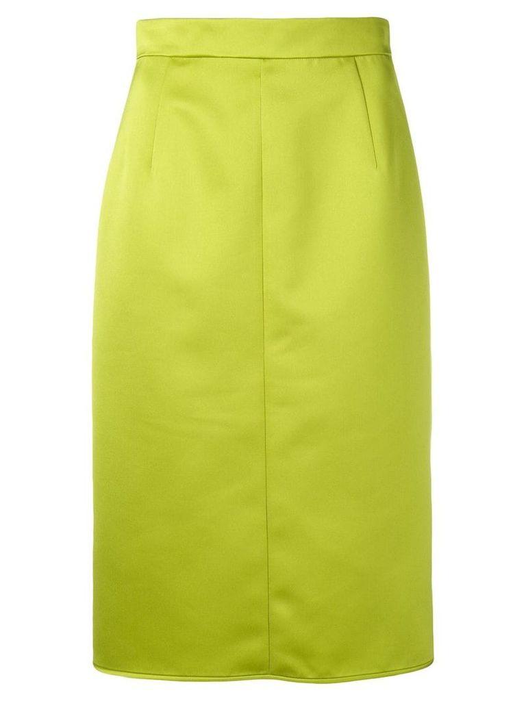 Nº21 midi pencil skirt - Green