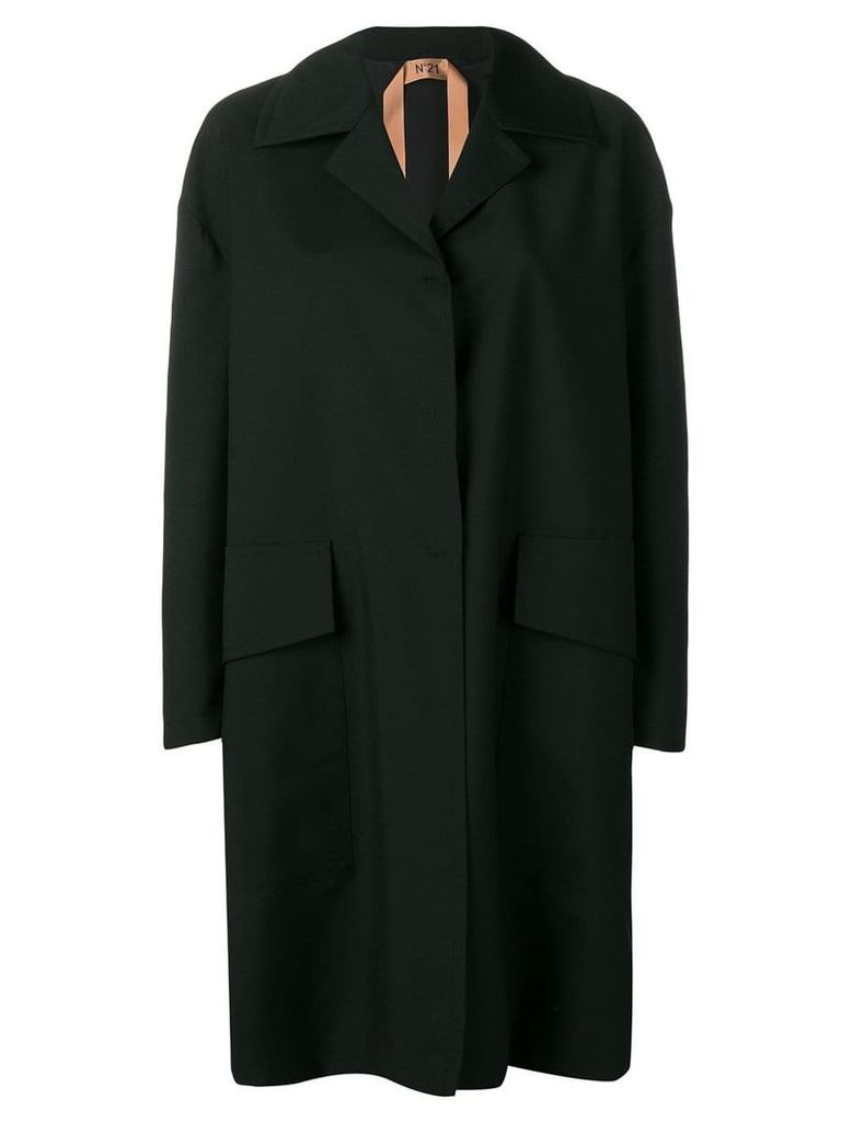 Nº21 lightweight coat - Black
