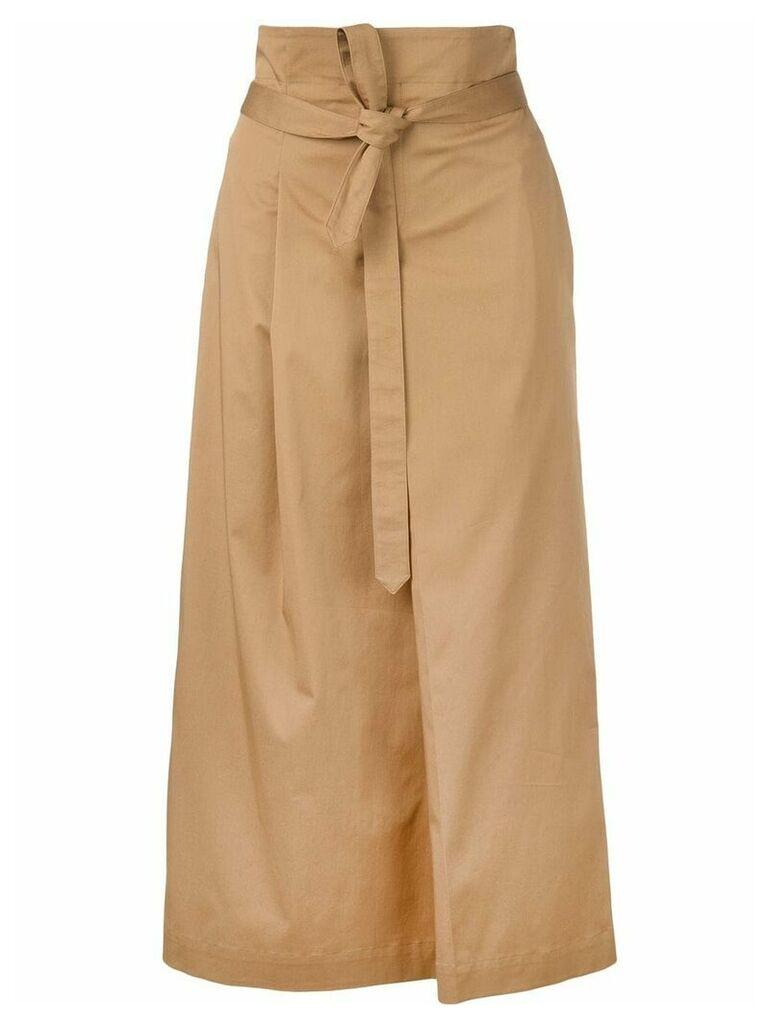Rochas Oenothera skirt - Brown