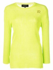Rochas crew-neck sweater - Green