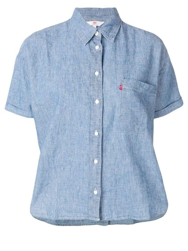 Levi's short-sleeved shirt - Blue