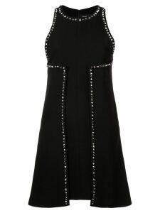 Proenza Schouler Studded Textured Crêpe Dress - Black