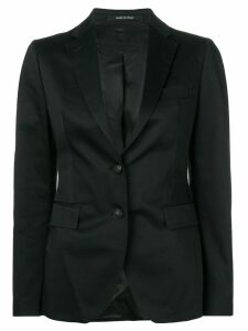 Tagliatore classic single-breasted blazer - Black