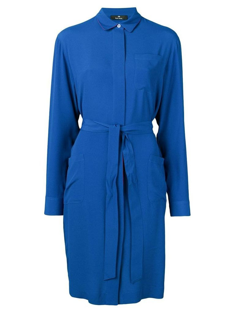 PS Paul Smith short shirt dress - Blue
