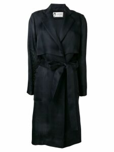 Lanvin satin trench coat - Blue