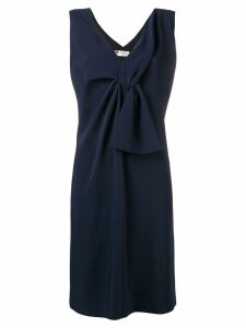 Lanvin knot detail dress - Blue