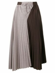 Jejia Cecile pleated skirt - Brown