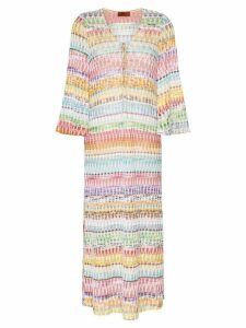 Missoni Mare zig-zag kaftan maxi-dress - Sm05t