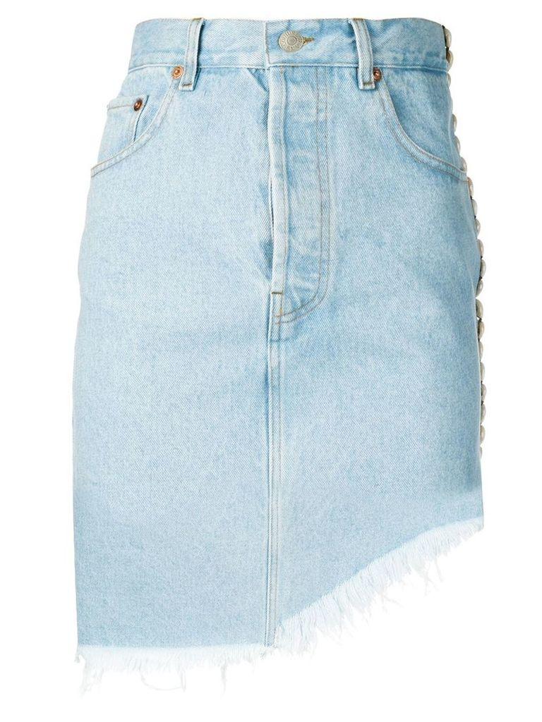 Forte Dei Marmi Couture asymmetric length skirt - Blue