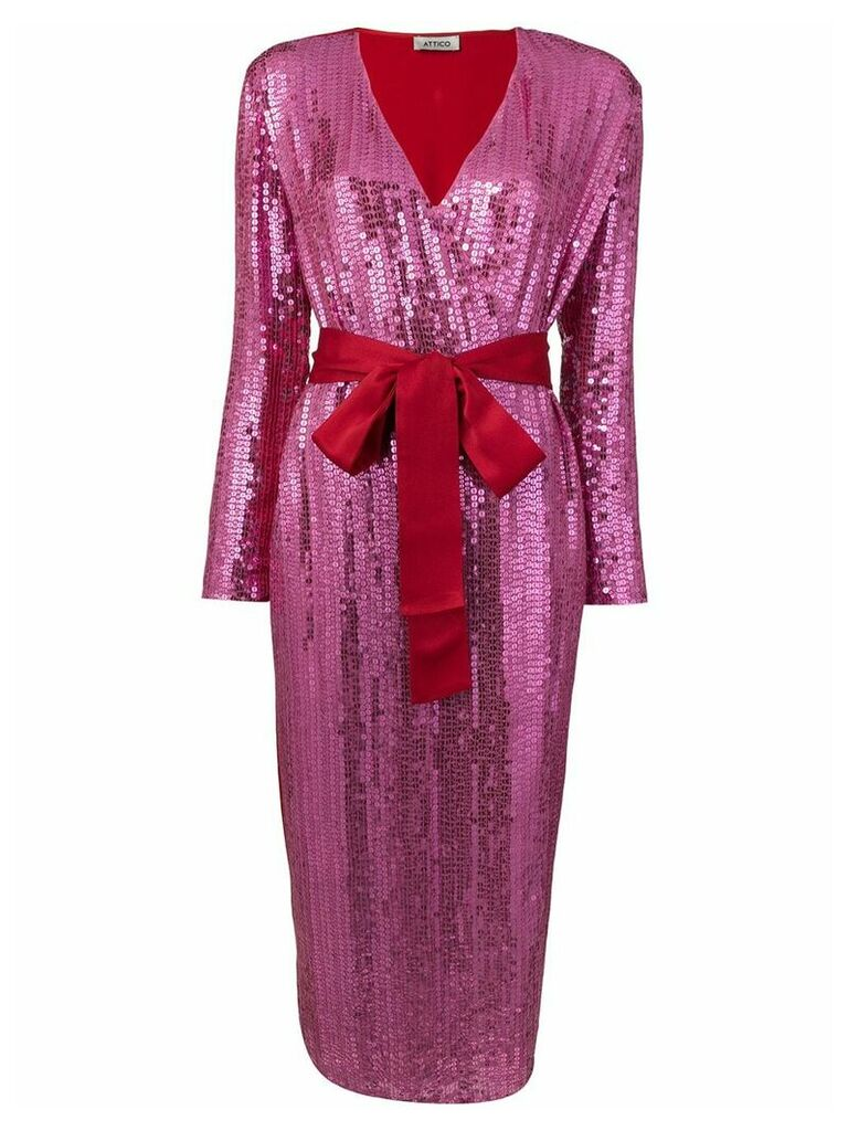 Attico sequin dress - Pink