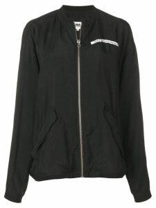 Mm6 Maison Margiela slouchy bomber jacket - Black