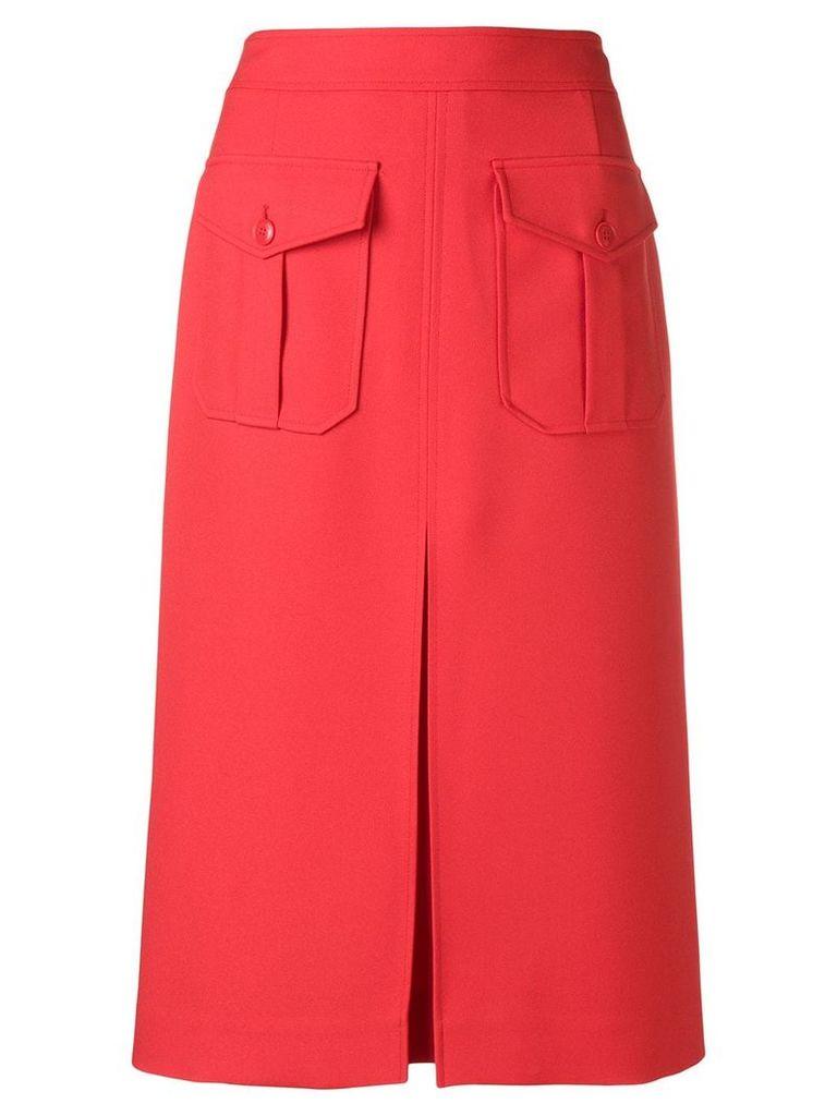 Calvin Klein high waisted layered skirt