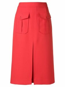Calvin Klein high waisted layered skirt